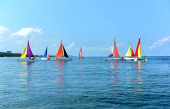 Colorful flotilla dazzles in Phu Quoc