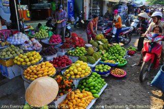 Fresh market in Phu Quoc island