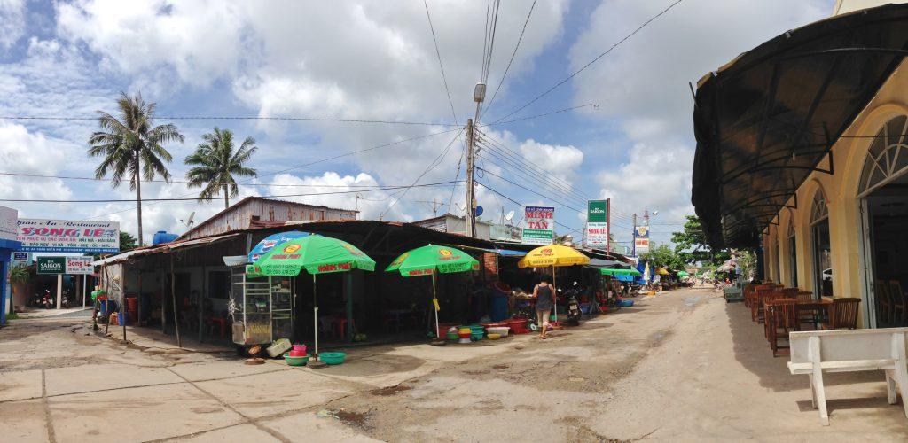 Ham Ninh market in phu quoc island