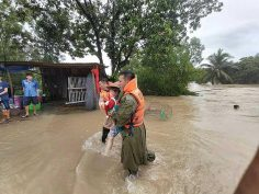 Southern localities hit by typhoon, brace for more bad weather